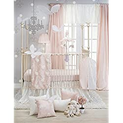 Glenna Jean Sweet Potato Lil' Princess Girl's 3 Piece Set, Pink/Cream/Ivory