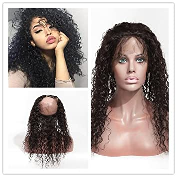 Amazon Com Wigsroyal 360 Lace Frontal Pronto Quick Weave Natural
