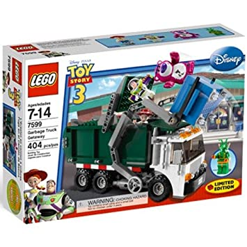 lego jouet tage camion poubelle getaway - Camion Lego