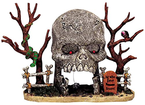Lemax 33409 Skull Archway Spooky Town Table Accent Halloween Decor Village