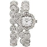Time100 Fashion Diamond Sunflower Jewelry Strap Bracelet Ladies Quartz Watch # W50344L.03A