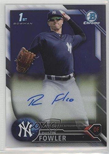 Dustin Fowler (Baseball Card) 2016 Bowman Chrome - Prospects Autographs - Shop Dfo