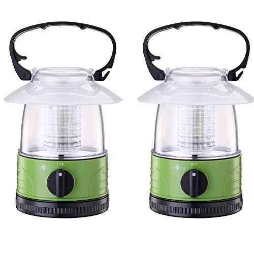 ZZD 2 Pack Portable LED Camping Lantern Lights Mini Kid Wate
