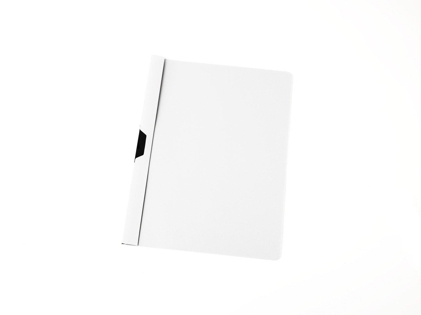 100 Cliphefter DIN A4 Bewerbungsmappe Farbe schwarz Klemmhefter