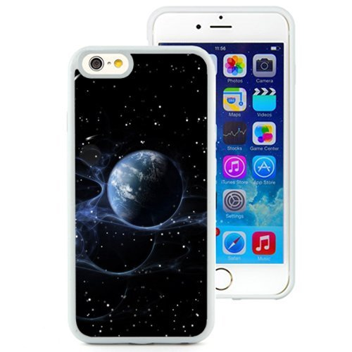 Custom Designed Cover Case For iPhone 6 4.7 Inch TPU With Starry Outer Space Suspend Smoke (2) Phone Case Diy ka ka case (Speck Iphone 5c Case Space compare prices)