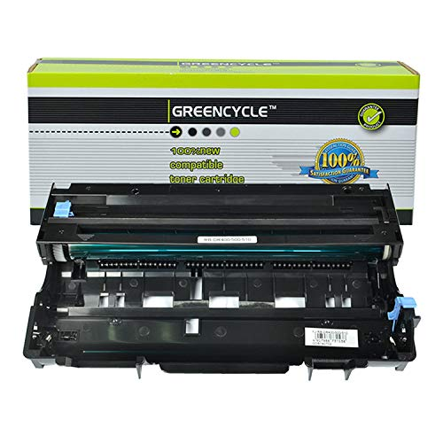 GREENCYCLE Compatible DR400 DR-400 Drum Unit Replacement for Brother Intellifax 4100 4100e 5750 5750e MFC-1260 MFC-9870 MFC-9700 MFC-2500 MFC-9870 DCP-1400 DCP-1200 Series Printer (Black, 1 Pack) ()
