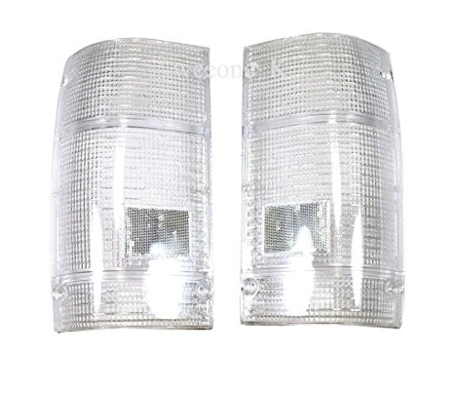 1 Pair Rear Taillights Tail Light Lamps Clear Lens For Mazda Magnum B Series B2000 B2200 B2600 Pickup 1986-1993
