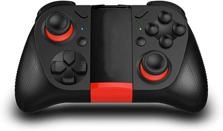 QIYUE Gamepad Controller, Receptor Bluetooth Wireless Mobile Gaming Joystick Gamepad con telescópica del sostenedor for Android iOS PC Smart TV Box/TV: Amazon.es: Hogar