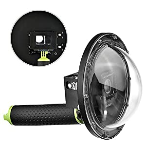 Vicdozia 6'' Dome Port Lens for Gopro Underwater Photography