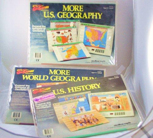- GEOSAFARI U. S. US History EI-8713 / More World Geography EI-8711 / More U. S.Georgraphy EI-8710 (Set of 3) EDUCATIONAL CARD SETS