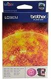 Brother LC980M cartucho de tinta - Cartucho de tinta para impresoras (magenta, 260 páginas, Brother MFC-250C, DCP-145C, MFC-255CW, MFC-290C, MFC-295CN, DCP-165C, DCP-195C, DCP-375CW, DCP-365CN, 7,4 cm, 1,2 cm, 9,3 cm) Si
