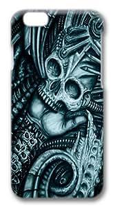 Alien Bio Polycarbonate Hard Case Cover for iphone 6 plus 5.5 inch 3D