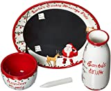 Child to Cherish Santa's Message Plate Set