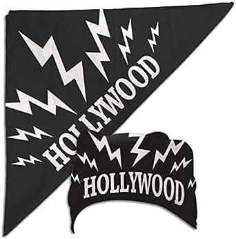 Amazon.com: Hulk Hogan Black Hollywood Sparks Bandana New