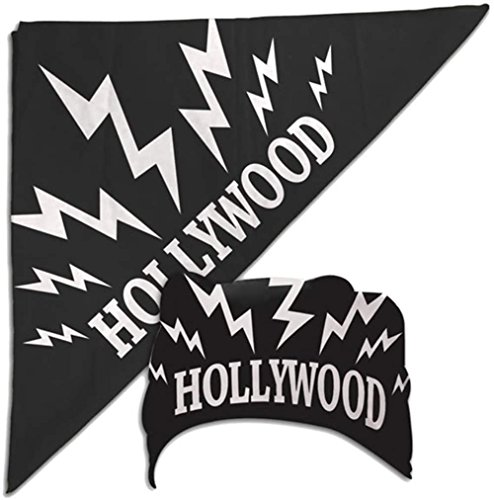 Price comparison product image Hulk Hogan Black Hollywood Sparks Bandana New