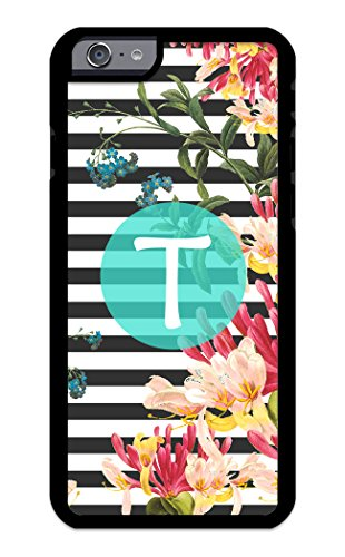 Amari Collection - Custom iPhone Cases for iPhone 6 Plus, iPhone 6S Plus iZERCASE [Floral Collection, Amara] [Perfect Fit] Make Your Own Phone Case Monogram Personalized Case (TURQUOISE)