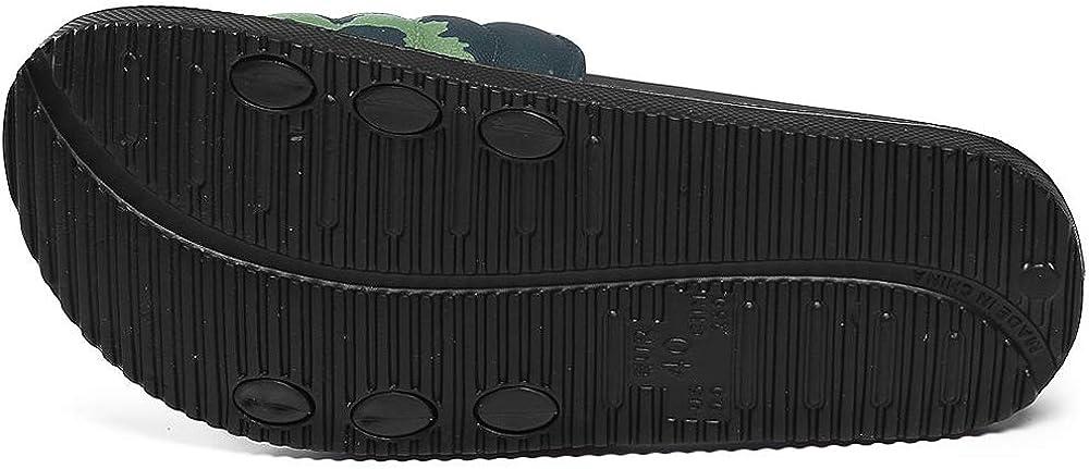 Unisex Adulti Sandali Pantofole per Uomo da Donna Taglia 36-50 Scarpe da Spiaggia Ciabatte estive Pantofole mimetiche