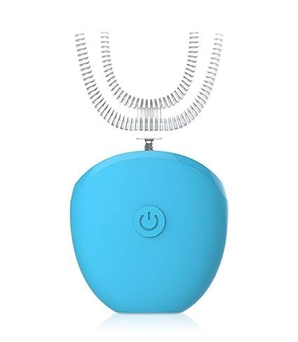 HYFZY Cepillo de Dientes automático Inteligente eléctrico Perezoso inalámbrico Carga 15 Segundos rápido Sonic Cepillo de
