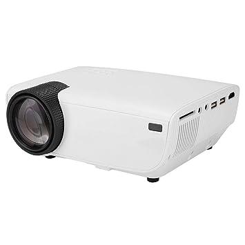 1280 * 800 Mini Proyector de Video para Hogar/Oficina,3500 lúmenes ...
