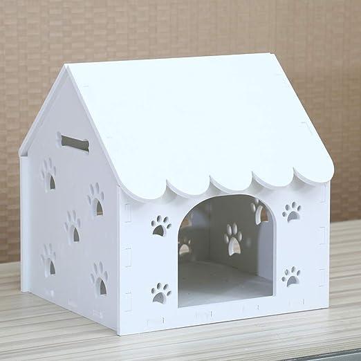 CHUDAN+ Nido del Animal Doméstico Kennel Caseta para Gatos Casa De ...
