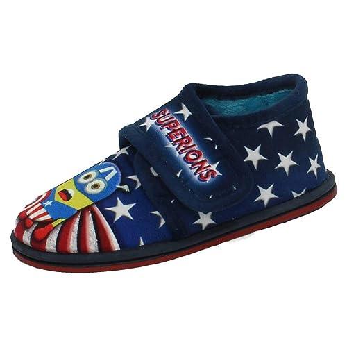 MORANCHEL 3726 Zapatillas Minions NIÑO Zapatillas CASA: Amazon.es: Zapatos y complementos