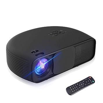 Proyector, HD Home Cinema Proyector de Video con 3200 ...