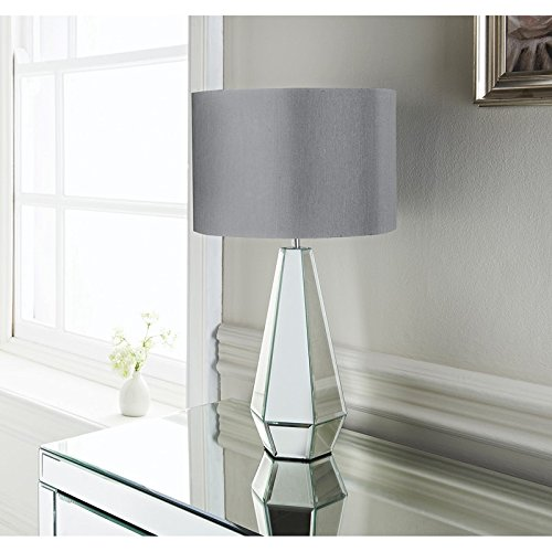 New Style Cara Faceted Mirror Table Lamp Room Decoration   30 X 30 X 20cm