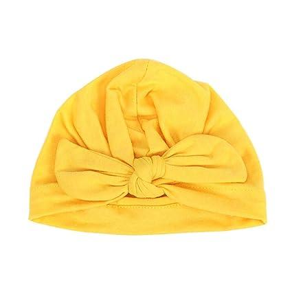 Baby Hat para Bebe Recién Nacido de Algodón Suave 36f99d6776b