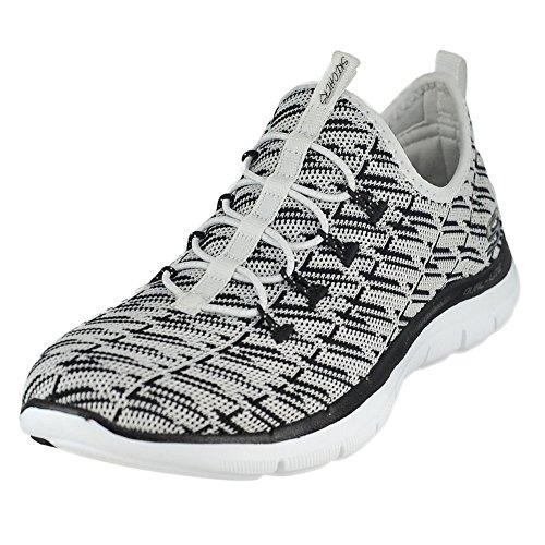 Skechers 12765, Damen Sneakers, Null, 41 EU Weiß