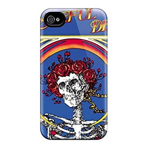 Anti-Scratch Cell-phone Hard Covers For Apple Iphone 4/4s (kNg4744GfKD) Provide Private Custom High Resolution Grateful Dead Band Pictures