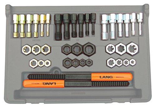 (Lang  972 40 Piece Fractional and Metric Thread Restorer Kit)
