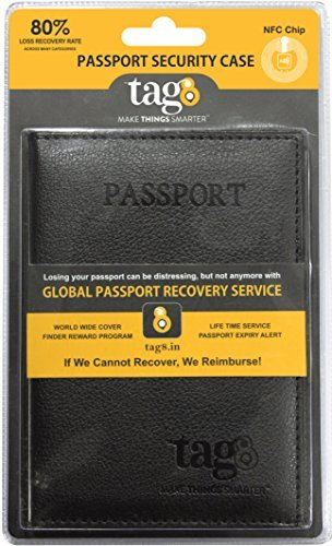 Embassy Solid Genuine Leather Passport Cover