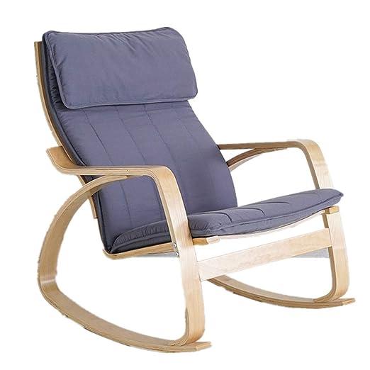 Laishutin Mecedora Cómoda Silla de Relax Mecedora, sillón ...