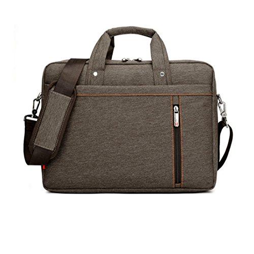 [해외]13 인치 큰 크기 나일론 컴퓨터 노트북 솔리드 노트북 태블릿 가방 가방 케이스 튼튼한 갈색 색상/13 Inch big size Nylon Computer Laptop Solid Notebook Tablet Bag Bags Case Durable Brown Color
