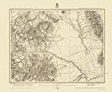 Topographical Map - Colorado, Southwest Colorado - US Army 1876 - 23 x 27.85 - Matte Canvas
