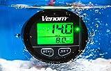 Premium WATERPROOF Venom 12-24 Volt GPS Voltage / Clock / Speedometer Meter Gauge For Boat Marine Motorcycle Snowmobile ATV Tractor