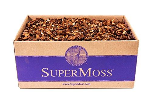 - Super Moss (23120) Orchid Potting Bark, Natural, 1560 cu in.