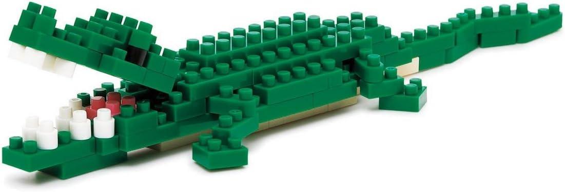 Kawada NBC-058 Kawada Nano Block Nile Crocodile (NBC-058) Building Kit