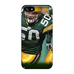 ETQ9938zsgf Richardcustom2008 Green Bay Packers Durable Iphone 5/5s Tpu Flexible Soft Cases