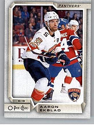 37c51a9c958ae Amazon.com: 2018-19 OPC O-Pee-Chee Hockey #36 Aaron Ekblad Florida ...