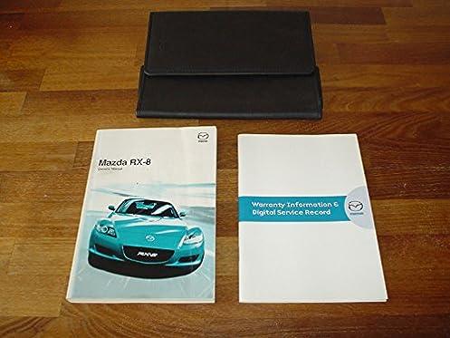 mazda rx8 rx 8 owners manual handbook 2003 2008 owner s hand rh amazon co uk mazda rx 8 owners manual pdf mazda rx 8 repair manual pdf