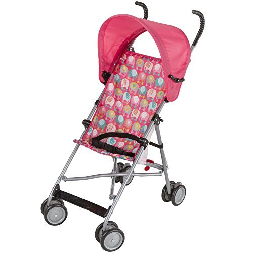- Cosco Umbrella Stroller With Canopy - Elephant Train by Cosco