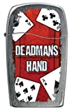 Zippo Butane Fueled Lighter, Deadman's Hand Gambling