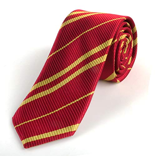 Landisun Tie Halloween Costume Necktie Party Costume Regular Cosplay tie Red