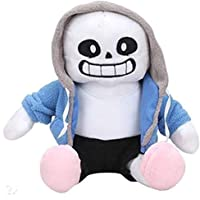 "Undertale Sans Papyrus Plush Stuffed Doll 12"" Toy Hugger Game Cosplay Cushion Gift Pillow (Blue)"