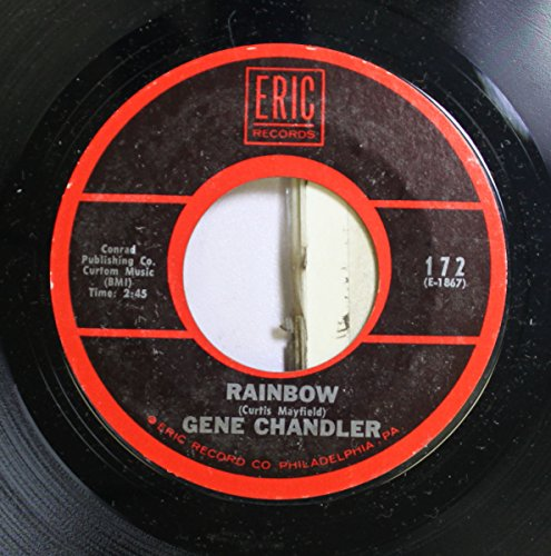 gene chandler 45 RPM rainbow / man's temptation