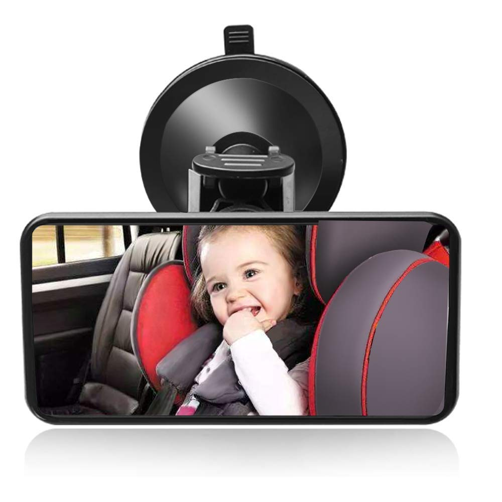 Feadem Baby Car Mirror Rear Facing - View Infant/Toddler in Back Seat