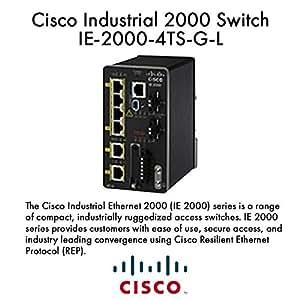 Amazon Com Cisco Ethernet Switch Ie 2000 4ts G L Laser