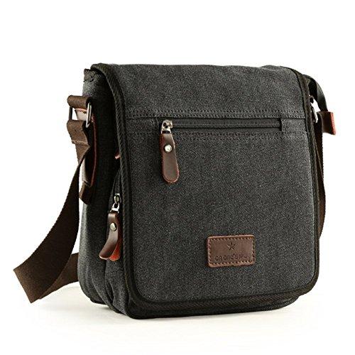 Sincere® Tendencia bolsa de mano / bolso casual de los hombres / deportes al aire libre del mensajero del bolso / mochila estudiantes-negro