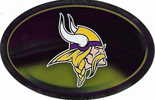 NFL Minnesota Vikings Metallic Team Logo Sticker - Nfl Logo Auto